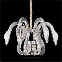Modern K9 crystal led chandelier amazon