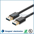 High Speed Double USB 3.0 Stecker auf Stecker Adapter USB Kabeltypen