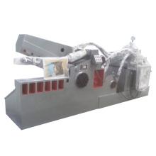 Máquina cortadora de metales de barra de acero de residuos hidráulicos