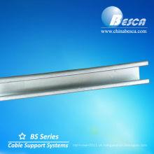 Aço Purlin C Galvanizado (UL, SGS, IEC e CE)