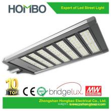 Hot Sale brillant lumineux 280w ~ 300w conduit la lumière de rue légère / pure lampe extérieure LED blanche 5 ans de garantie CE RoHS Bridgelux SMB Led