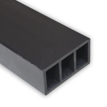 100% Waterproof 90x45mm 3 Holes Plank WPC Flooring