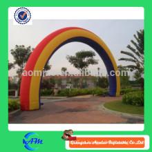 Arcos inflables al aire libre de la publicidad, arco inflable de la línea de final, arco modificado para requisitos particulares