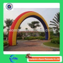 Arches gonflables publicitaires extérieures, arche de ligne de finition gonflable, voûte personnalisée