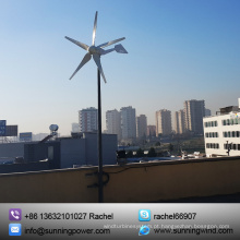 800W de alta qualidade fora do gerador de turbina eólica da fonte de alimentação da grade