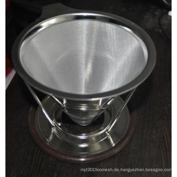 Ultrafeines hochwertiges pour über Kaffee Filter Kegel Dripper mit Kaffeestand