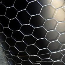 Red de alambre hexagonal electro galvanizado