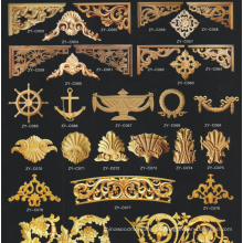 todos os tipos de esculturas em madeira maciça