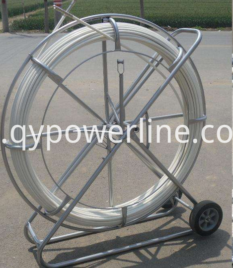 Continuous Rodders with Fiberglass core