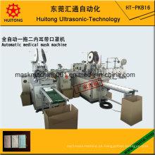 Máquina automática de máscara médica (2 máquinas de bucle)