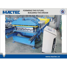 High quality steel metal roof tile roll forming machine