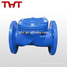 Válvula de retención de parada de bronce de la válvula de agua de la aleta de goma 1-1 / 2 pulgada