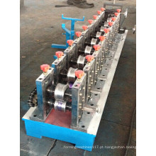 Máquina formadora de rolos de canaletas de esteira de cobre de aço vitrificado