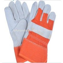 The durality cow skin hand works gloves