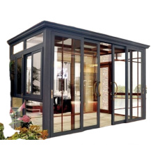 Sun Room Outside Door with Aluminum Frame and  Double Temper Glass