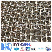 stainless steel crimped wire mesh made in Anping