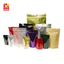 Pochette de qualité alimentaire avec fermeture à glissière