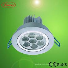 Lámparas de techo de 7 * 1W LED SMD Chip