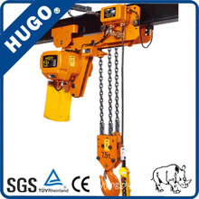 7t 10m Electric Hoist with Motorized Trolley