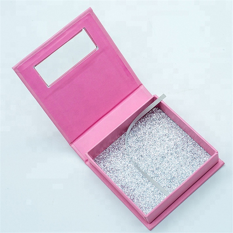 Custom False Eyelash Packaging Cardboard Box Wholesale