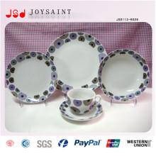 14 pouces personnalisés Chine Hot Selling porcelaine vaisselle pour promotionnel
