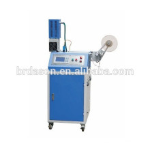Máquina de corte ultra-sônica tecida impressa da etiqueta