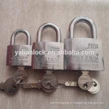 Top segurança dupla bola de aço bloqueio dupla linha pinos padlock
