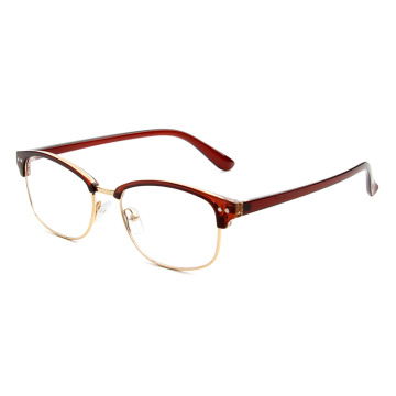 unbreakable cheap rimless frame reading glasses