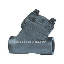 Clapet anti-retour à piston en acier forgé (type Y)