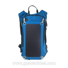 Large Capacity Backpack With Solar Phone Charger