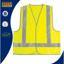 Lightweight Polyester Hi Vis Reflective Tape Safety Vest