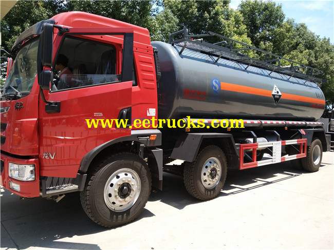 Sodium Hydroxide Tanker Trucks