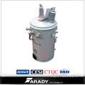 Transformateur d'huile monté par Polonais monophasé 10kVA