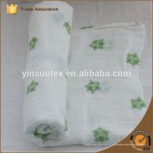 El algodón 100% hizo punto la manta del bebé, las mantas baratas del algodón venden al por mayor