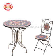 new garden product mosaic table