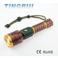 Высокая мощность Лучший фонарик Новый дизайн Led перезаряжаемые фонарик