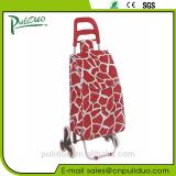 Wholesale 600D Satin Fabric Bend Climb Stairs Folding Shopping Cart