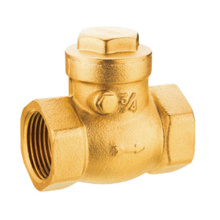 Forged brass swing check valve brass valve