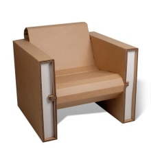 Best Quality for Office Corrugated Furniture Practical Cardboard Stool / Paper Chairs export to New Caledonia Manufacturers