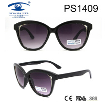 2017 Fashion New Model Plastic Sunglasses (PS1409)