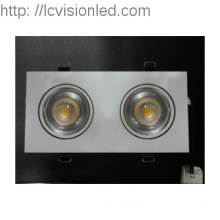 LED lighting/CE Approved LED Down light AC85-265V Good Quality,2 heads