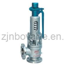 CE Válvula de Alívio de Pressão de Alta Temperatura Flangeada (580Degr.)