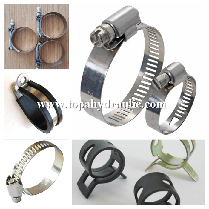 High pressure small hose clamps for hoses