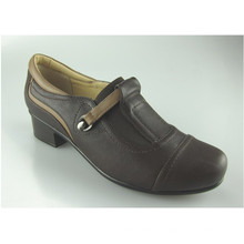 Hot Selling Heel Female Lady Women Leather Office Shoes