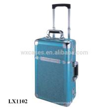 portable en aluminium enfants coquille dure bagages en gros de l'usine de la Chine