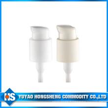 Pompe à crème creuse plastique 24 mm pour produits de soins de la peau avec casquettes