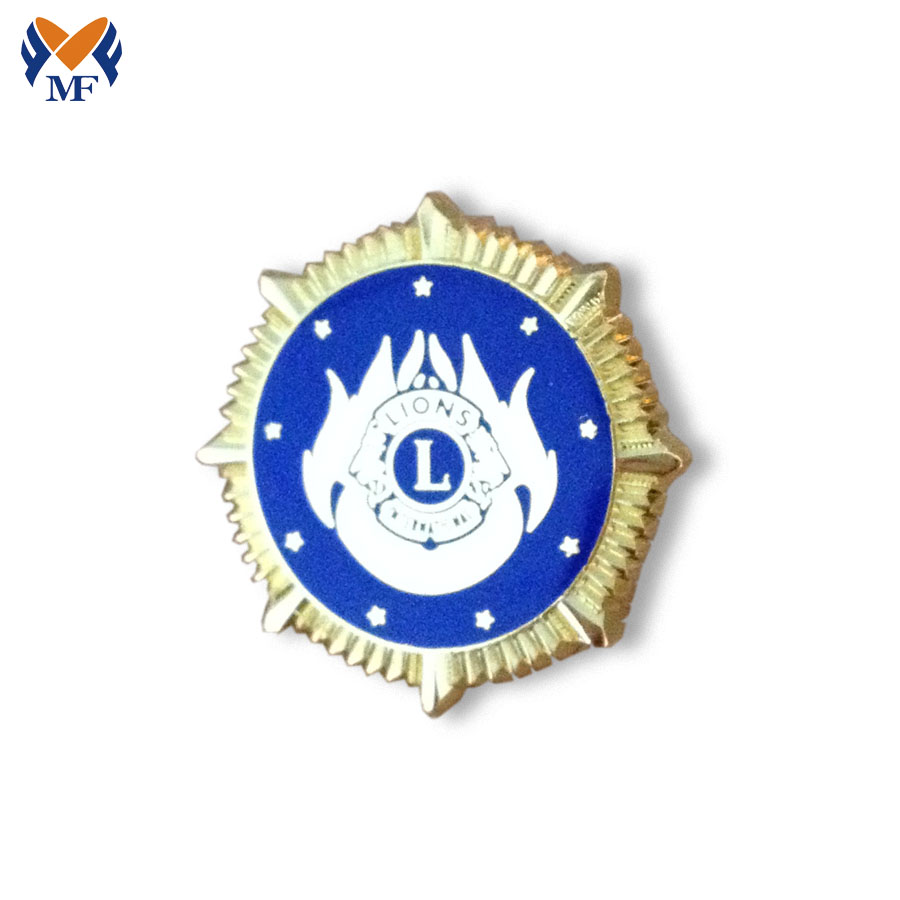 Custom Lion Badge