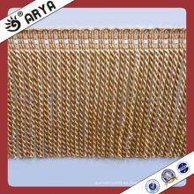Franja de lingote de sofá para cortina, fabricación