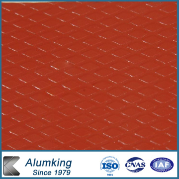 Five Bar Checkered Aluminium / Aluminium Sheet / Plate / Panel for Electrical