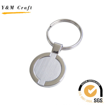 Hot Sale Round Shape Metal Keychain for Gift (Y02303)